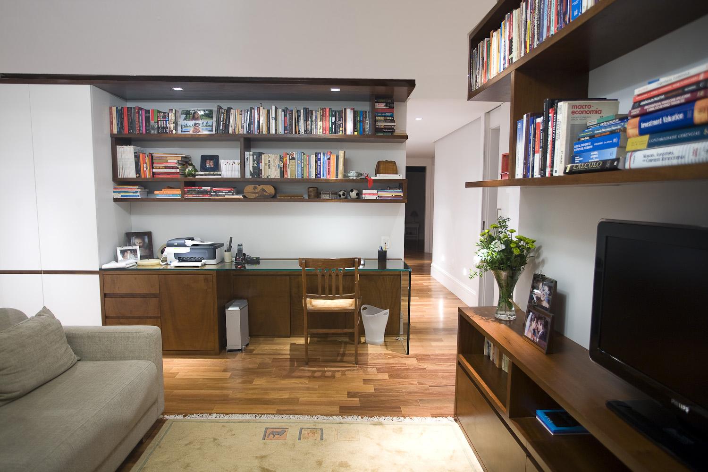 Sala De Tv Com Home Office ~ As próximas fotos são do meu escritóriosala de TV, o projeto