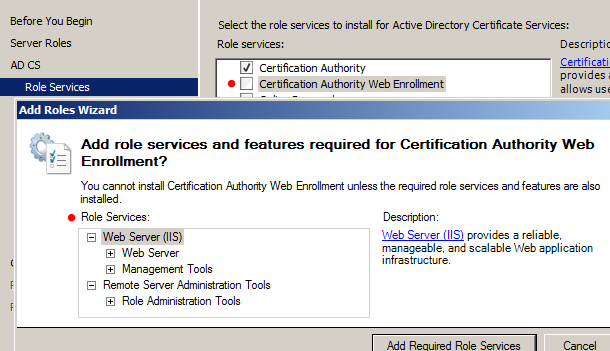 My tech blog march 2015 this is not absolutely necessary we could distribute certificates solely via group policy and not provide a web interface for requesting certificates yadclub Images
