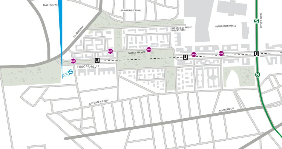 Lageplan; Bild: axis-frankfurt.de