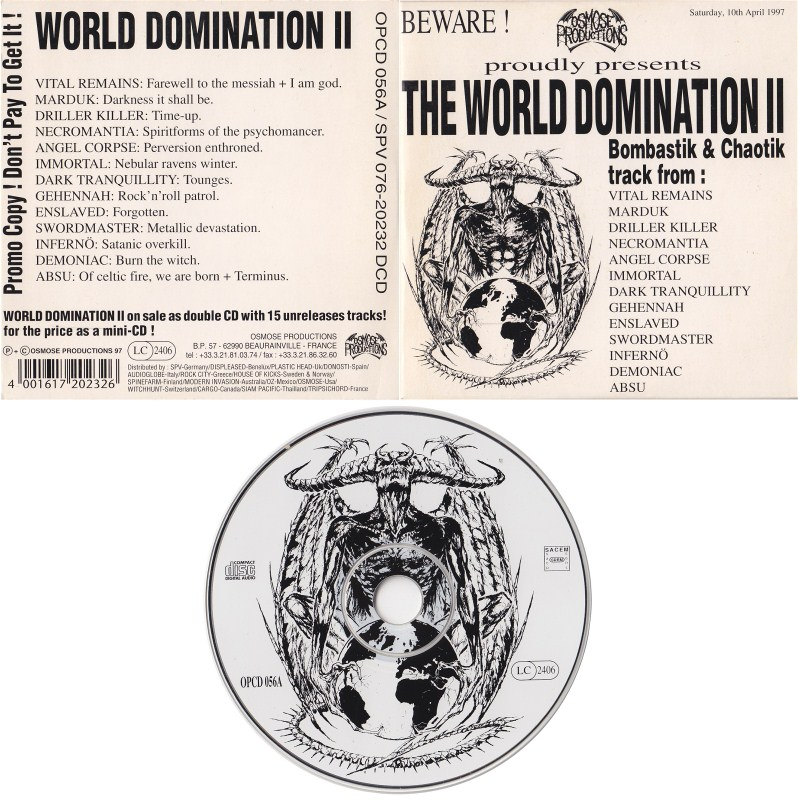 General the total world domination collection are
