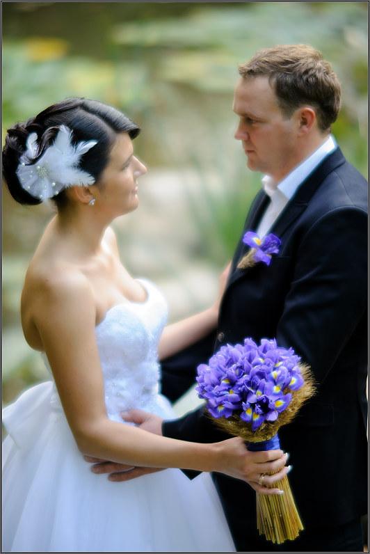 klasiška vestuvinė nuotrauka