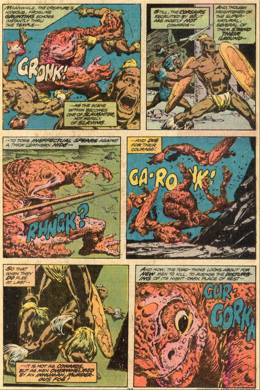 Conan the Barbarian (1970) Issue #73 #85 - English 14