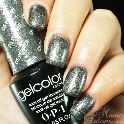 OPI GelColor DS Pewter Swatch