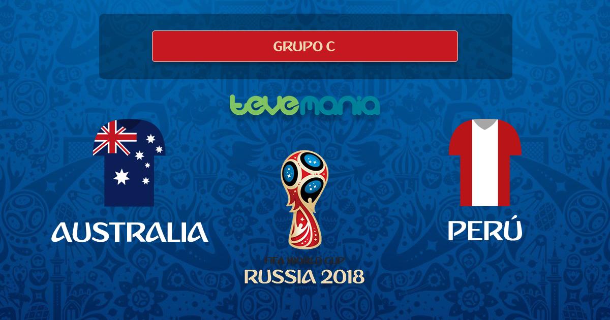 Perú se despide del mundial con una victoria 2-0 frente a Australia
