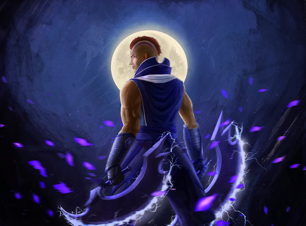 Dota 2 Wallpapers: Dota 2 Art - Antimage by simminkian