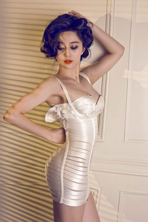 Chinese Actress Fan Bingbing Hot Pics In Bikini