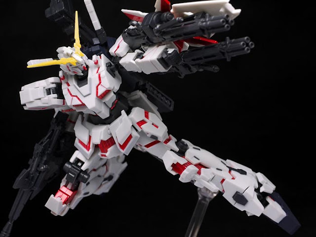 Robot Damashii (Side MS) Unicorn Gundam Destroy Mode by hacchaka