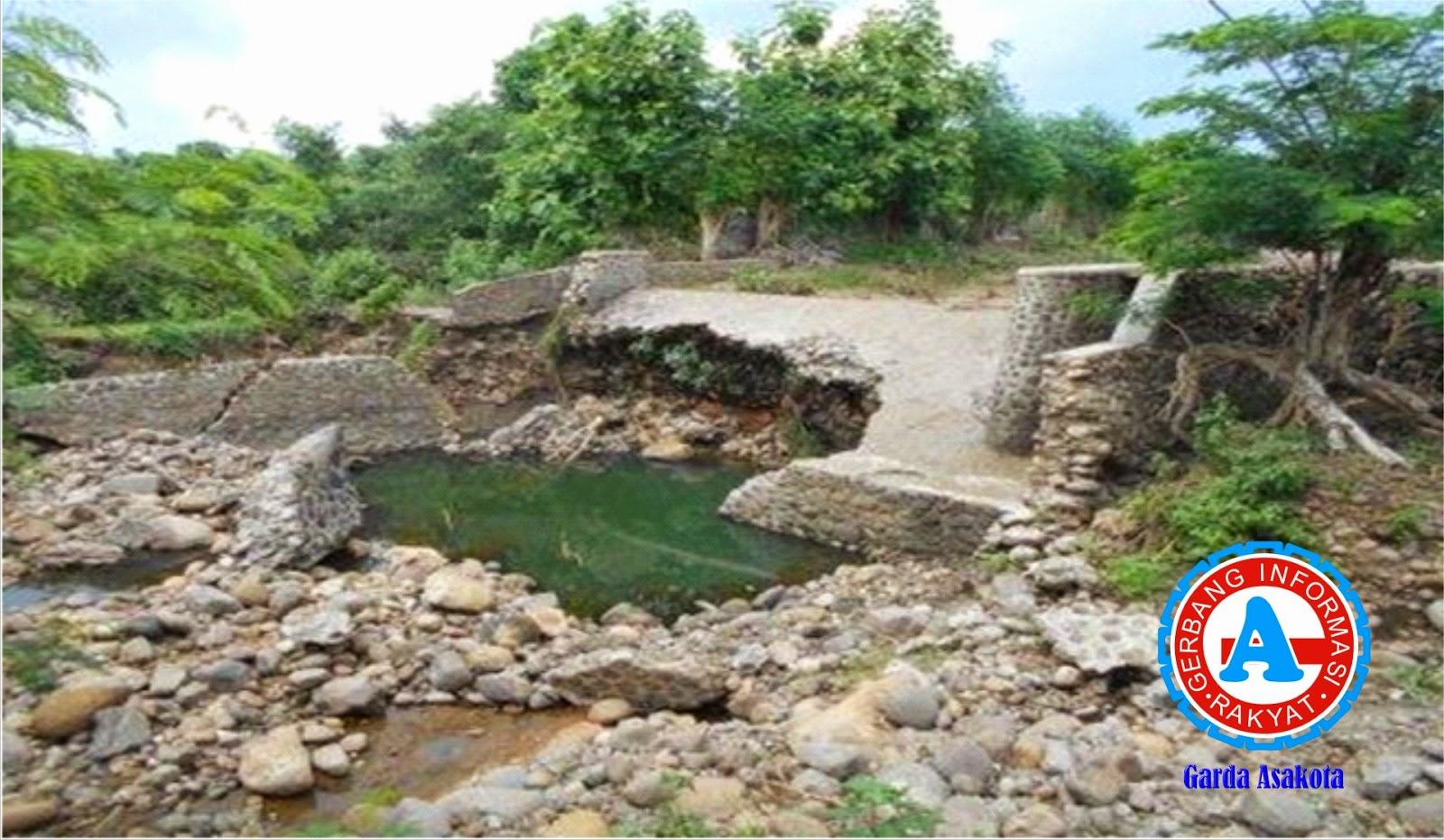 Dua Dam di Desa Nggembe Bolo Mendesak Diperbaiki