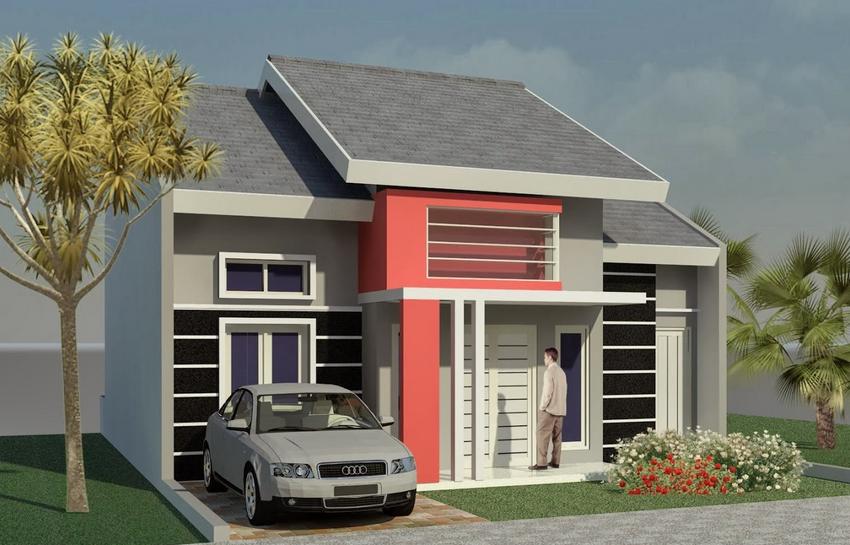 Contoh Desain Rumah Minimalis Type 21 Elegan Terbaru 2015_2