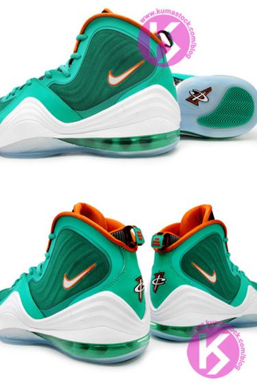 new product ec71e 59f6c ... Nike Air Penny 5  Miami Dolphins  Sneaker set to release at the end of  the year...makes no sense why they wouldnt release during the spring    summer.