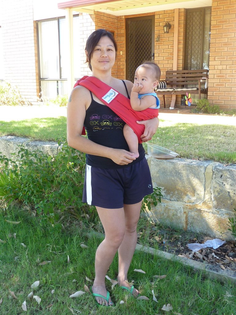 Sheila S Wanderings Baby Wearing