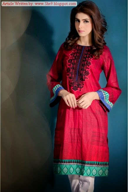 Maria-B MGirls Eid Ul Azha Suits Collection 2014