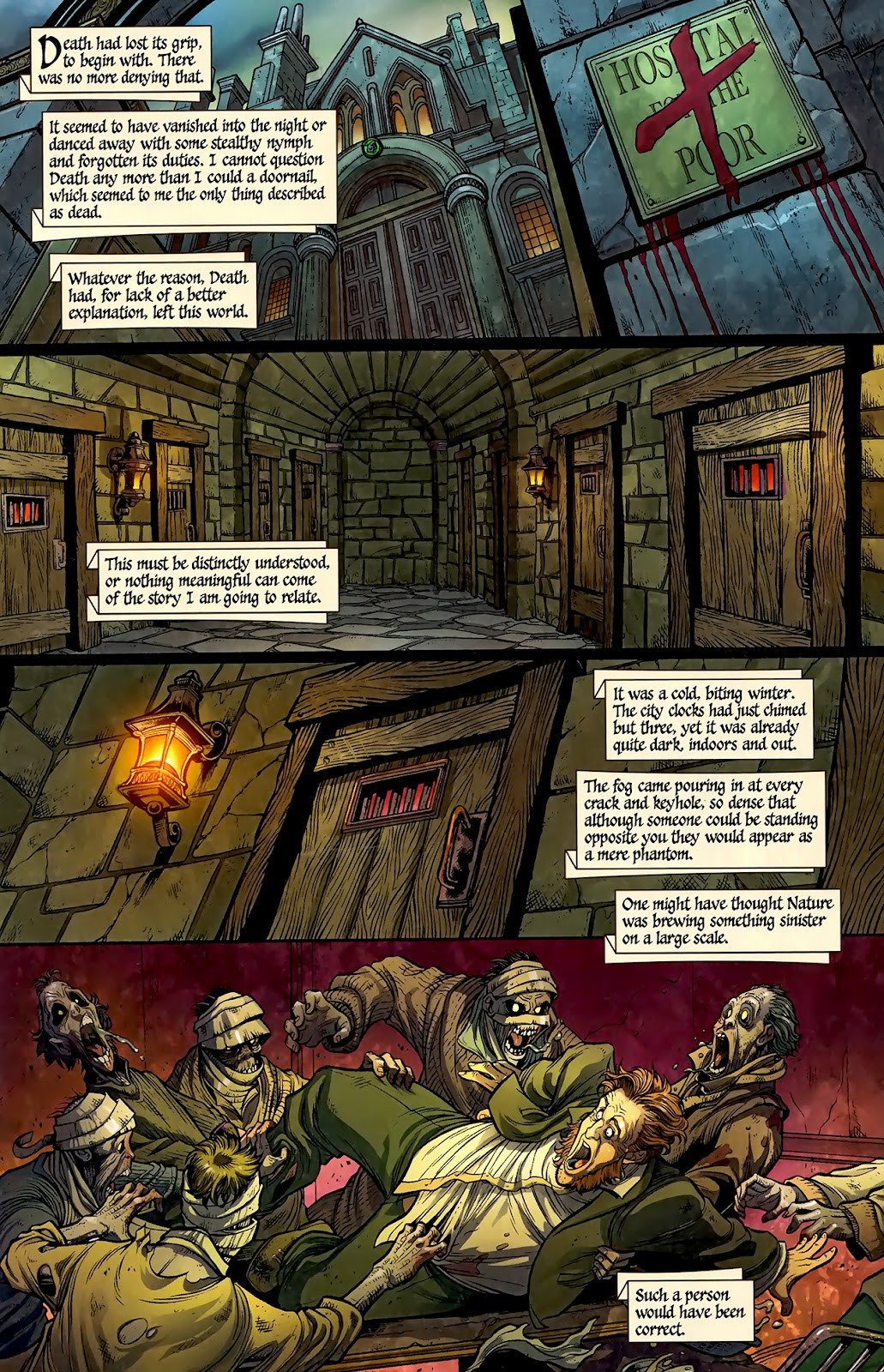 Zombies Christmas Carol Issue #1 Page 4
