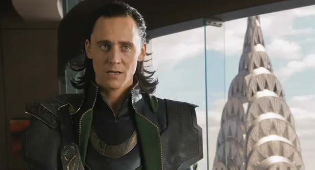 The Avengers 2012 Super Bowl Spot Extended Movie Trailer Loki Confrontation with Tony Stark