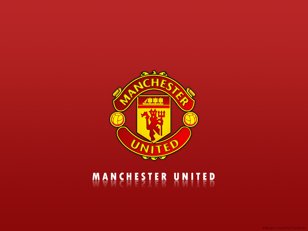 manchester united logo wallpaper 2 manchester united
