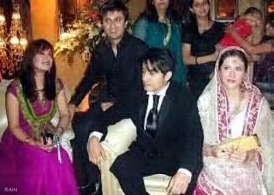 Ali Zafar and Ayesha Fazli's Wedding Pictues