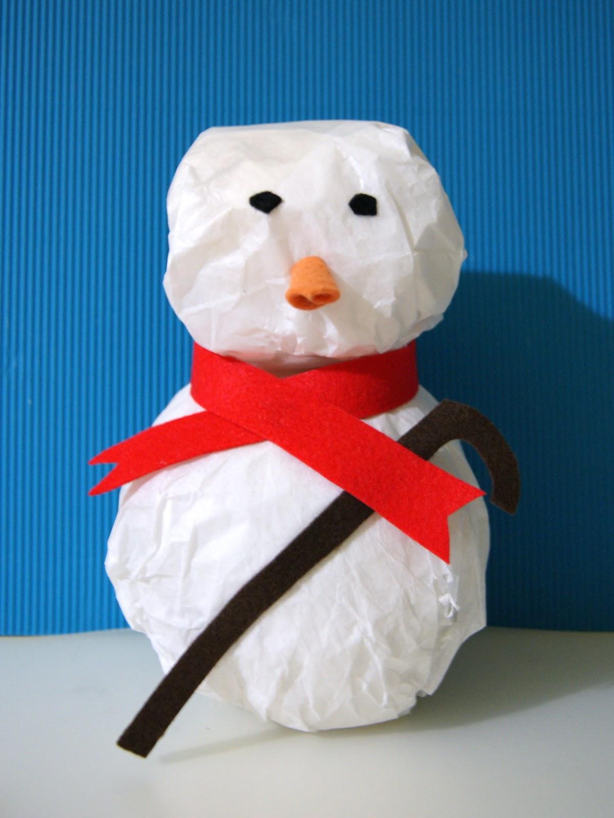 Ruca la casa de los complementos mu eco de nieve - Como hacer un muneco ...