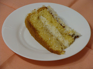 Porción tarta Raffaello