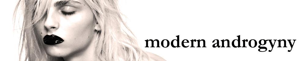 modern androgyny