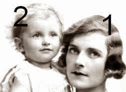 Edwina et Patricia Mountbatten