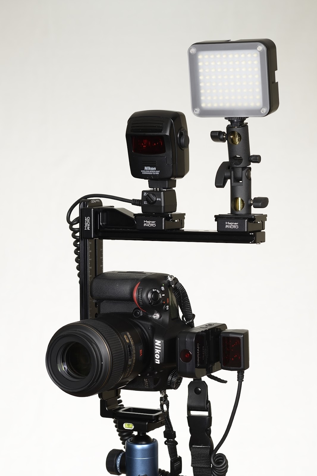 Hejnar Photo Modular Flash Bracket front view