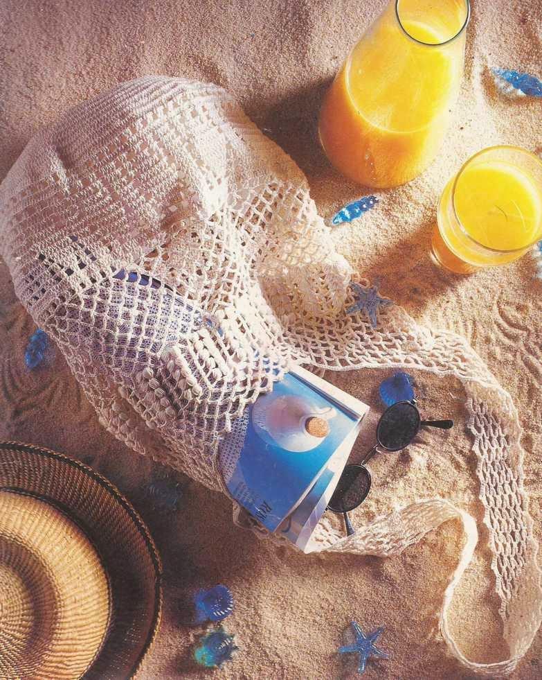 Un bolso a crochet
