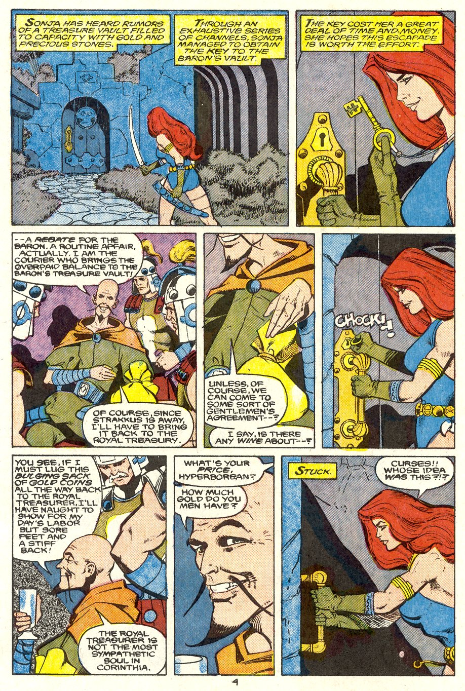 Conan the Barbarian (1970) Issue #204 #216 - English 5