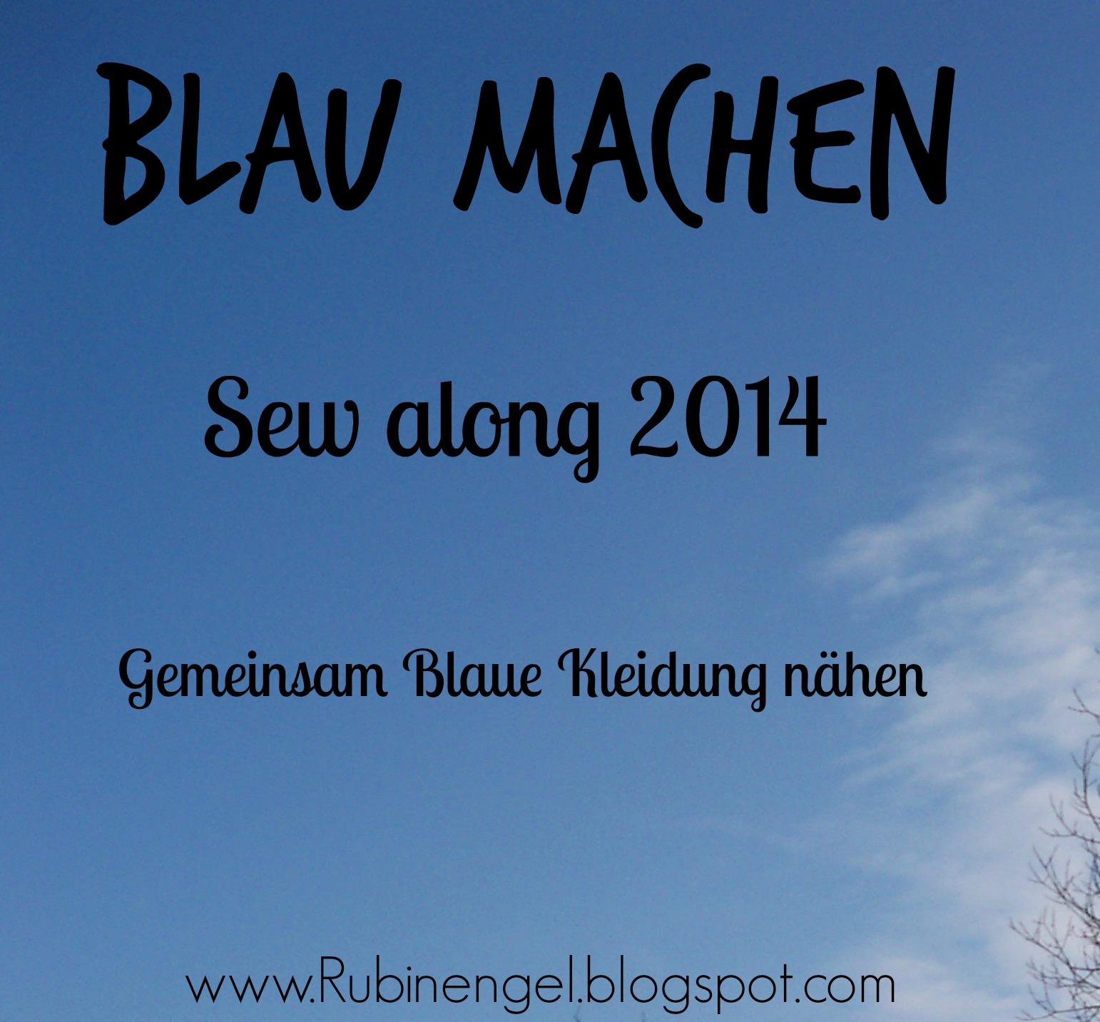 Blau machen Sew along 2014
