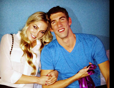 megan rossee y michael phelps