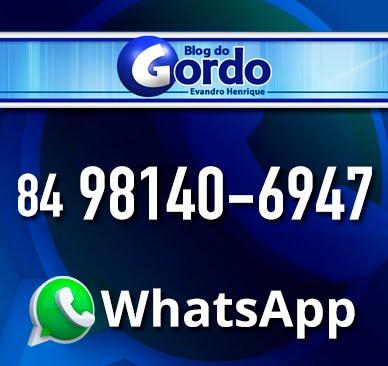 Fale com o Blog do Gordo pelo WhatsApp