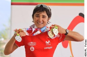BARBARA RIVEROS: TRIATLETA PRO, CHILENA