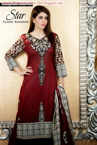 Naveed Nawaz Classi Khaddar Collection 2014