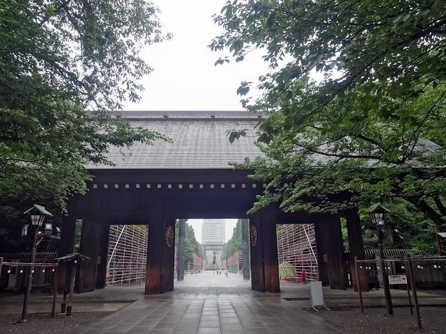 神門(内側より),靖国神社〈著作権フリー無料画像〉Free Stock Photos