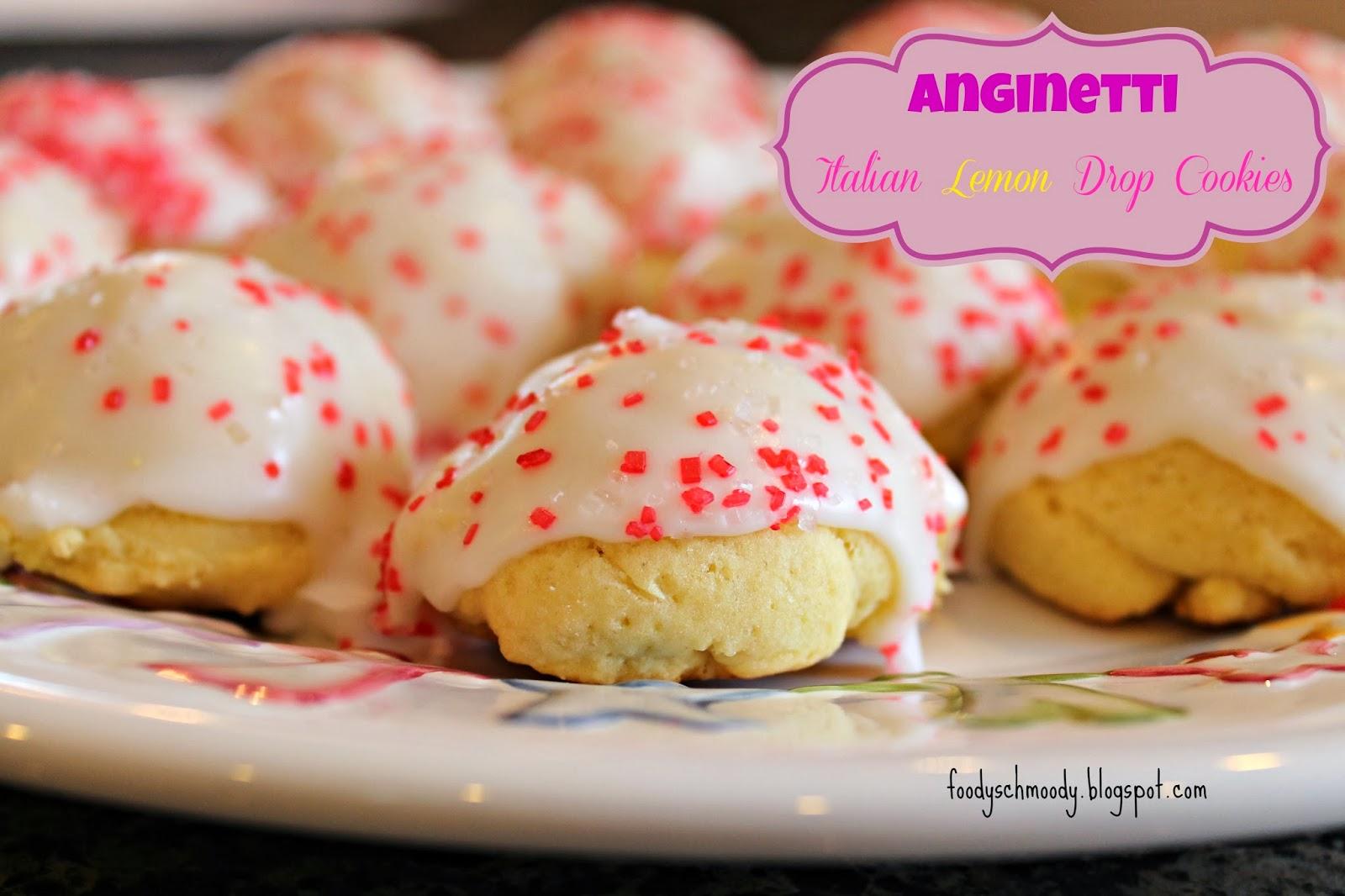 Anginetti (lemon drop cookies)