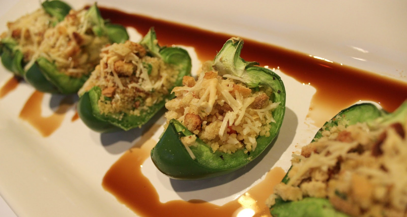 Stuffed Green Peppers Recipe — Dishmaps