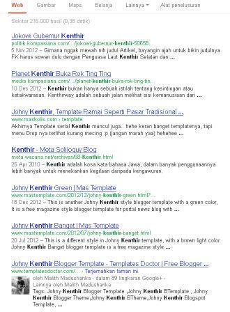 penulusuan google