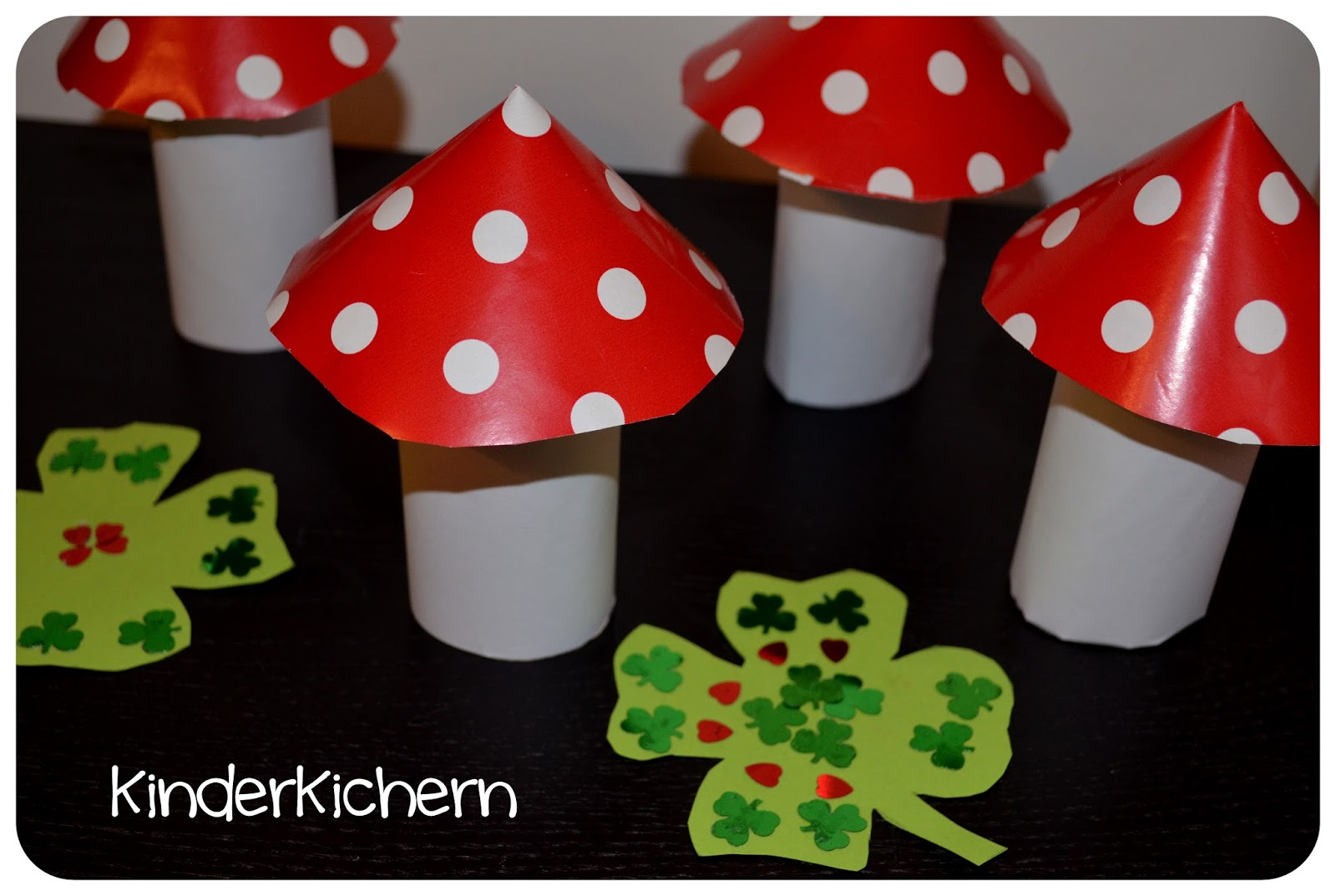 Kinderkichern unsere woche kw 53 Fliegenpilz dekoration