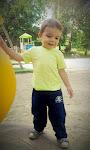 Nepotul meu Filip la 1 Oct.2012