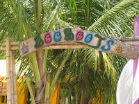 Le Boobooj's, resto de plage à Deshaies