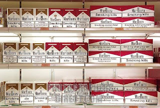 cartons of cigarettes