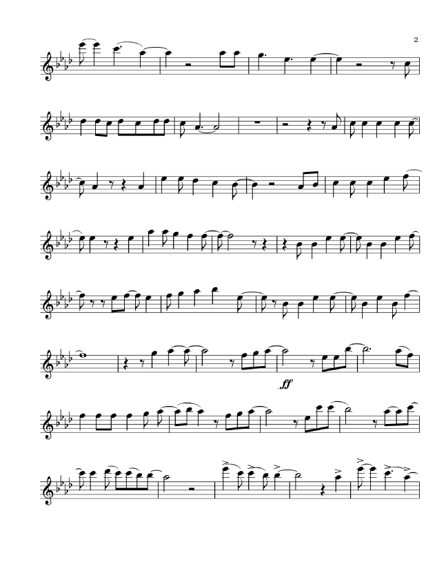 Violin free violin sheet music pop : Free Pop Sheet Music: Let it Go - Idina Menzel (Flute)