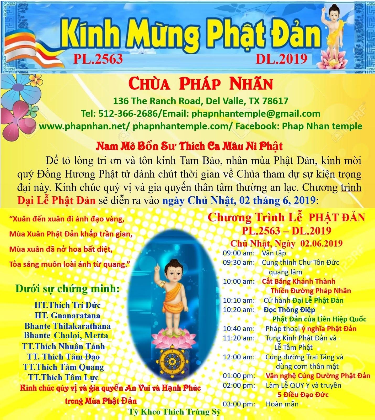 Phat Dan 2019 poster