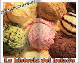 La historia del helado