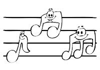 da colorare di musica