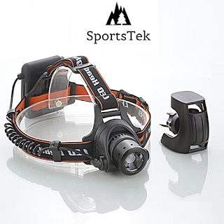 Enter the SportsTek Lightwear 4 in 1 Multifunction LED Headlamp Giveaway. Ends 10/29.