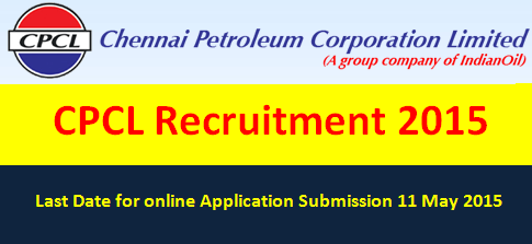 CPCL Recruitment 2015