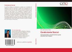 ¡NUEVO LIBRO! Contraloría Social- Eliú Cardozo
