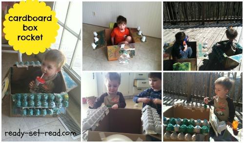 activities for kids, david shannon, picture book, book activities, cardboard rocket