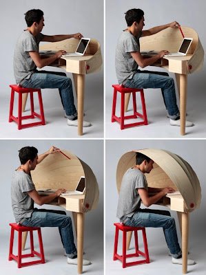 Creative Desks and Cool Desk Designs (20) 2