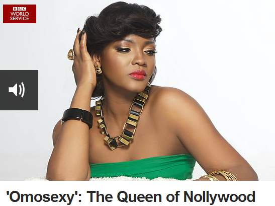 Omotola Ekeinde 'Omosexy' Interview with BBC Radio